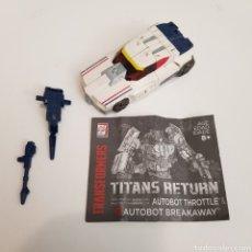 Figuras y Muñecos Transformers: TRANSFORMERS   TITANS RETURN   BREACKAWAY. Lote 275337873