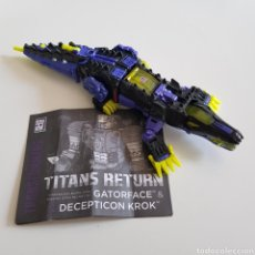 Figuras y Muñecos Transformers: TRANSFORMERS   TITANS RETURN   GATORFACE. Lote 276124588