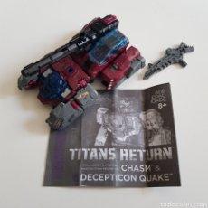 Figuras y Muñecos Transformers: TRANSFORMERS   TITANS RETURN   QUAKE. Lote 276125178