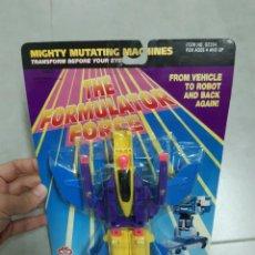 Figuras y Muñecos Transformers: JUGUETE TRANSFORMER TRANSFORMERS. BOOTLEG THE FORMULATOR FORCE (AVIÓN). EN BLISTER, AÑOS 90. Lote 276567658
