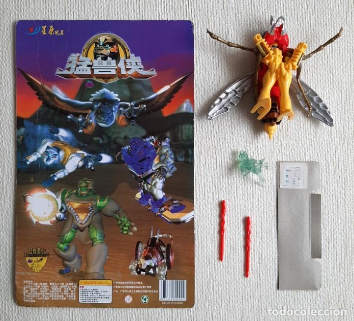 Figuras y Muñecos Transformers: Raro bootleg Transformers Beast Wars avispa Waspinator 100% completo - Foto 3 - 276645143