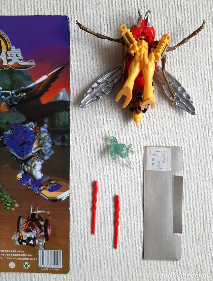 Figuras y Muñecos Transformers: Raro bootleg Transformers Beast Wars avispa Waspinator 100% completo - Foto 4 - 276645143