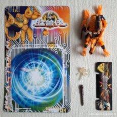 Figuras y Muñecos Transformers: RARO BOOTLEG TRANSFORMERS BEAST WARS LEOPARDO CHEETOR 100% COMPLETO. Lote 276645433
