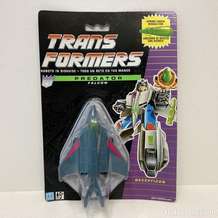 HASBRO TRANSFORMERS PREDATOR FALCON. VINTAGE. AÑO 1.991. NUEVO. (Juguetes - Figuras de Acción - Transformers)