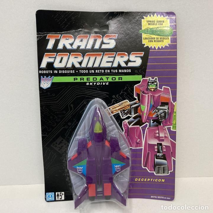 HASBRO TRANSFORMERS PREDATOR SKYDIVE. VINTAGE. AÑO 1.991. NUEVO. (Juguetes - Figuras de Acción - Transformers)
