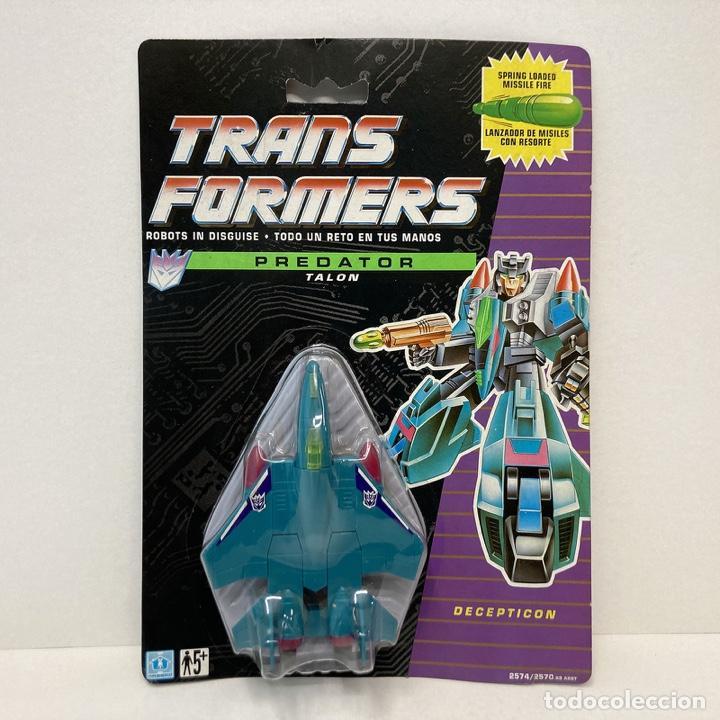 HASBRO TRANSFORMERS PREDATOR TALON. VINTAGE. AÑO 1.991. NUEVO. (Juguetes - Figuras de Acción - Transformers)