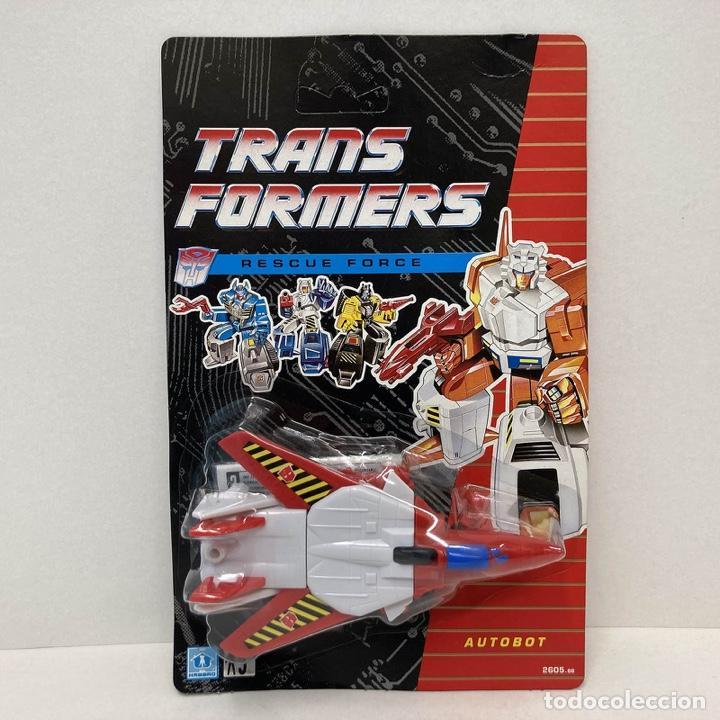 HASBRO TRANSFORMERS RESCUE FORCE THE JET. VINTAGE. AÑO 1.991. NUEVO. (Juguetes - Figuras de Acción - Transformers)