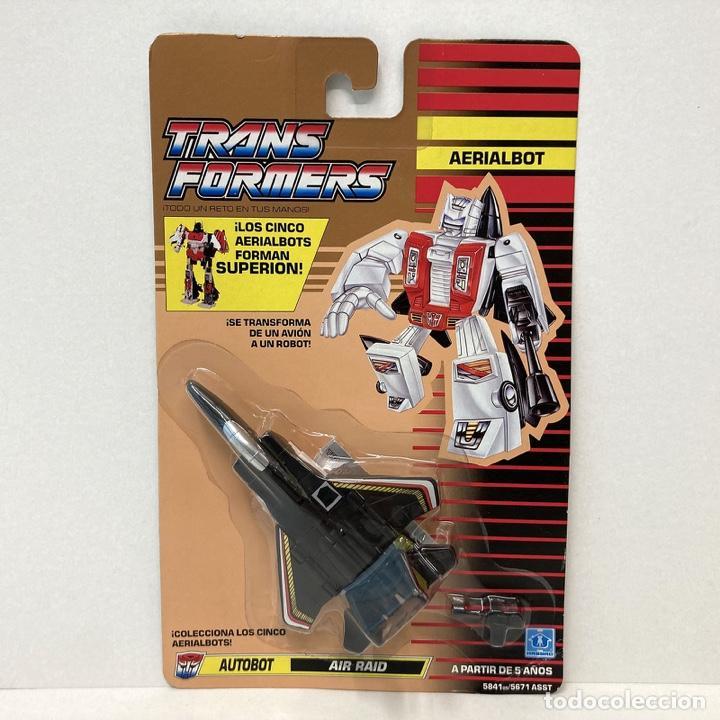 HASBRO TRANSFORMERS AERIALBOT AIR RAID. VINTAGE. AÑO 1.991. NUEVO. (Juguetes - Figuras de Acción - Transformers)