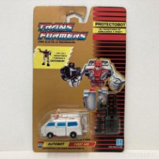 Figuras y Muñecos Transformers: HASBRO TRANSFORMERS PROTECTOBOT FIRST AID. VINTAGE. AÑO 1.990. NUEVO.. Lote 278458908