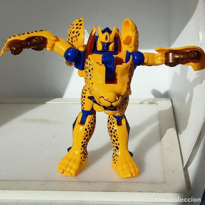 Figuras y Muñecos Transformers: Beast Wars (Japan) Deluxe Class: cheetor transformers Completo ojos rojos chetor - Foto 5 - 280795883