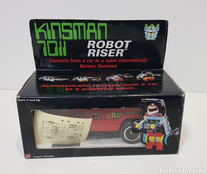 Figuras y Muñecos Transformers: KINSMAN 7011 ROBOT RISER - JUGUETE AÑOS 80 - NUEVO SIN USO - TRANSFORMERS - Foto 5 - 283307078