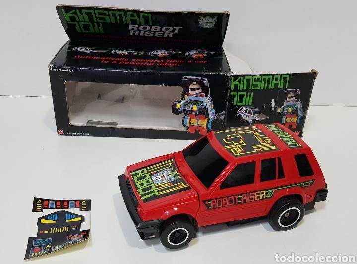 KINSMAN 7011 ROBOT RISER - JUGUETE AÑOS 80 - NUEVO SIN USO - TRANSFORMERS (Juguetes - Figuras de Acción - Transformers)