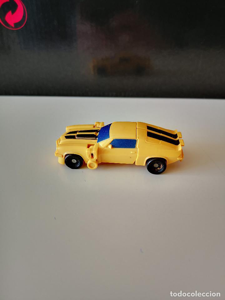 COCHE TRANSFORMERS TAKARA HASBRO BUMBLEGEE CHEVROLET CAMARO AUTOBOT AÑOS 80-90 RARO FIGURA DE ACCION (Juguetes - Figuras de Acción - Transformers)