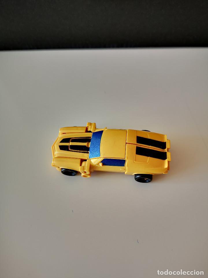 Figuras y Muñecos Transformers: COCHE TRANSFORMERS TAKARA HASBRO BUMBLEGEE CHEVROLET CAMARO AUTOBOT AÑOS 80-90 RARO FIGURA DE ACCION - Foto 5 - 286612608