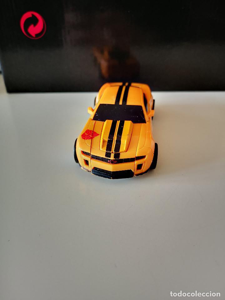 Figuras y Muñecos Transformers: COCHE TRANSFORMERS TAKARA HASBRO BUMBLEGEE CHEVROLET CAMARO AUTOBOT AÑOS 80-90 RARO FIGURA DE ACCION - Foto 2 - 286613203