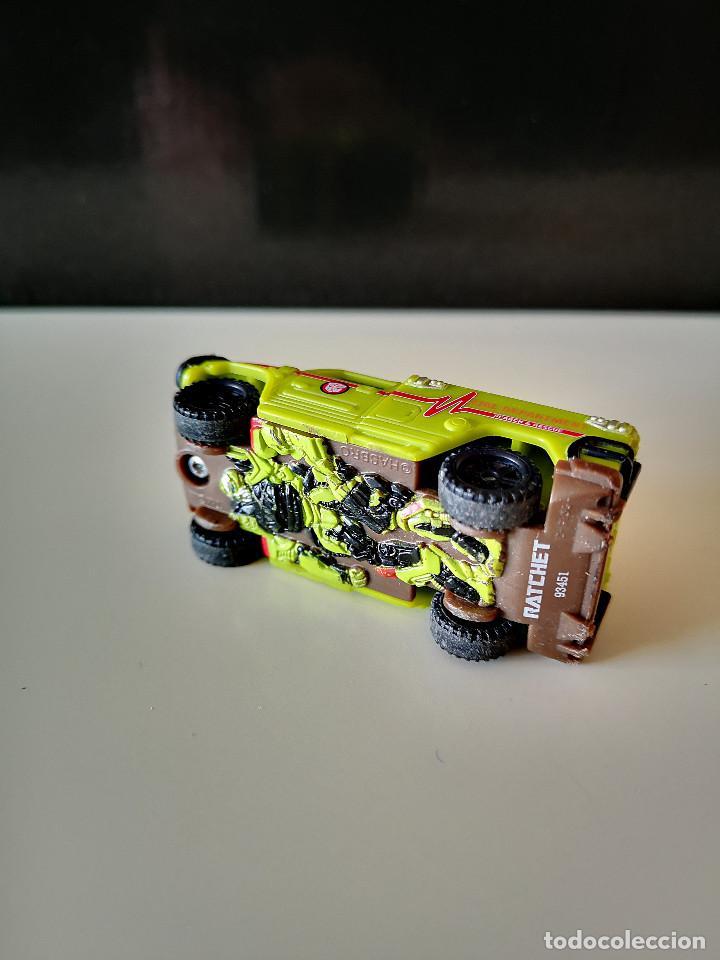 Figuras y Muñecos Transformers: RATCHET HASBRO MOVIE TRANSFORMERS COCHE JUGUETE BUEN ESTADO EN GENERAL - Foto 6 - 286613523