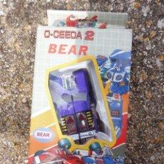 Figuras y Muñecos Transformers: O-CEEDA 2 BEAR ROBOT TRANSFORMABLE EN CAJA LH710B, MADE IN TAIWAN. Lote 288561623
