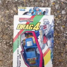 Figuras y Muñecos Transformers: POWER DRAG DARG 4 STRATEGIC PLAN ROBOT TRANSFORMABLE, MADE IN TAIWAN. Lote 288562118