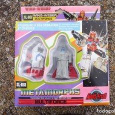 Figuras y Muñecos Transformers: WING-WEBER MULTIFORCE SL-661 METAMORPHS, MADE IN TAIWAN. Lote 288563948
