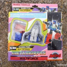 Figuras y Muñecos Transformers: MABA-TACKLE MULTIFORCE SL-663 DASH-TOC METAMORPHS, MADE IN TAIWAN. Lote 288564143