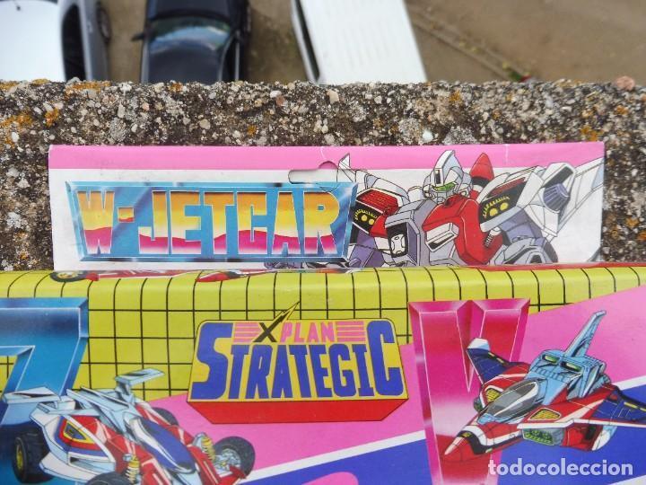 Figuras y Muñecos Transformers: W-Jetcar X plan strategic 2 in 1 LH-733, Made in Taiwan - Foto 2 - 288564283