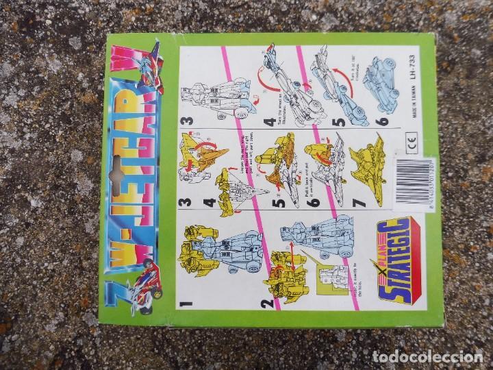 Figuras y Muñecos Transformers: W-Jetcar X plan strategic 2 in 1 LH-733, Made in Taiwan - Foto 10 - 288564283