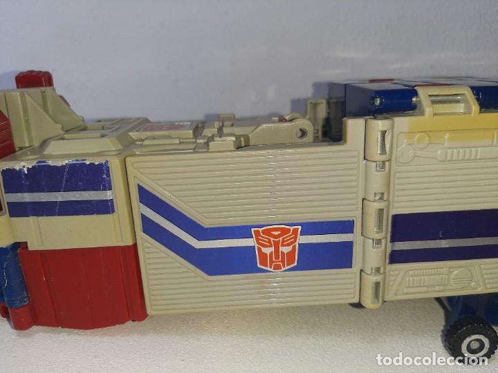 Figuras y Muñecos Transformers: TRANSFORMERS : ANTIGUO TRAILER OPTIMUS PRIME POWERMASTER GENERACION 1 HASBRO TAKARA AÑO 1987 - Foto 2 - 288714058
