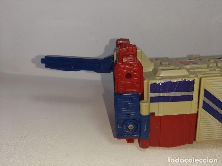 Figuras y Muñecos Transformers: TRANSFORMERS : ANTIGUO TRAILER OPTIMUS PRIME POWERMASTER GENERACION 1 HASBRO TAKARA AÑO 1987 - Foto 3 - 288714058
