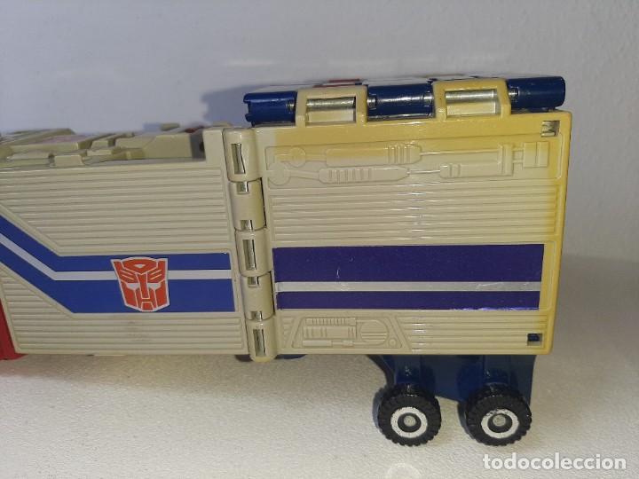 Figuras y Muñecos Transformers: TRANSFORMERS : ANTIGUO TRAILER OPTIMUS PRIME POWERMASTER GENERACION 1 HASBRO TAKARA AÑO 1987 - Foto 4 - 288714058
