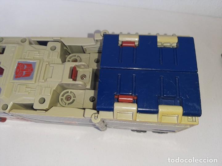 Figuras y Muñecos Transformers: TRANSFORMERS : ANTIGUO TRAILER OPTIMUS PRIME POWERMASTER GENERACION 1 HASBRO TAKARA AÑO 1987 - Foto 5 - 288714058