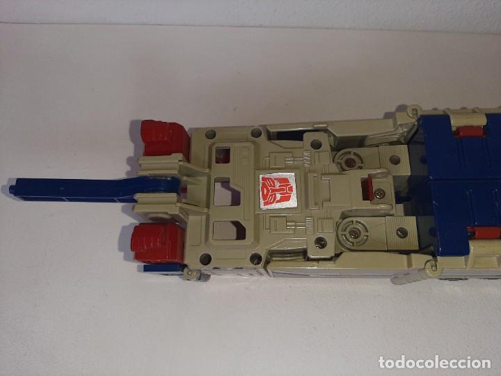Figuras y Muñecos Transformers: TRANSFORMERS : ANTIGUO TRAILER OPTIMUS PRIME POWERMASTER GENERACION 1 HASBRO TAKARA AÑO 1987 - Foto 6 - 288714058