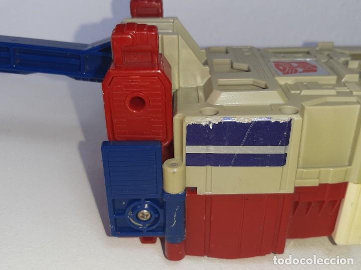Figuras y Muñecos Transformers: TRANSFORMERS : ANTIGUO TRAILER OPTIMUS PRIME POWERMASTER GENERACION 1 HASBRO TAKARA AÑO 1987 - Foto 9 - 288714058