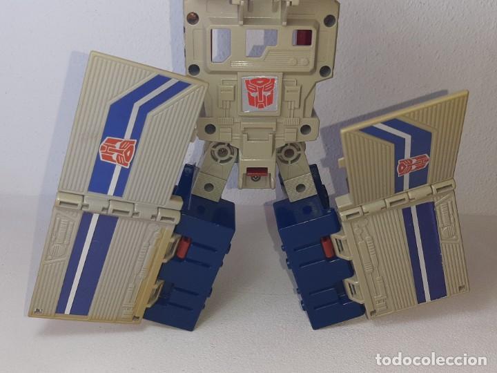 Figuras y Muñecos Transformers: TRANSFORMERS : ANTIGUO TRAILER OPTIMUS PRIME POWERMASTER GENERACION 1 HASBRO TAKARA AÑO 1987 - Foto 10 - 288714058
