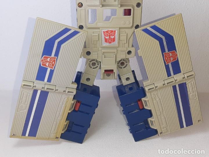 Figuras y Muñecos Transformers: TRANSFORMERS : ANTIGUO TRAILER OPTIMUS PRIME POWERMASTER GENERACION 1 HASBRO TAKARA AÑO 1987 - Foto 11 - 288714058