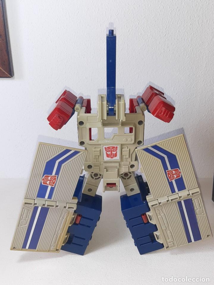 Figuras y Muñecos Transformers: TRANSFORMERS : ANTIGUO TRAILER OPTIMUS PRIME POWERMASTER GENERACION 1 HASBRO TAKARA AÑO 1987 - Foto 12 - 288714058