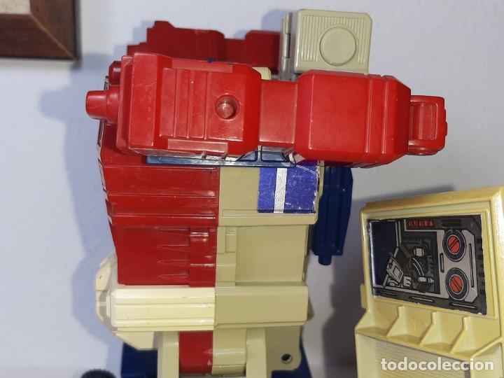 Figuras y Muñecos Transformers: TRANSFORMERS : ANTIGUO TRAILER OPTIMUS PRIME POWERMASTER GENERACION 1 HASBRO TAKARA AÑO 1987 - Foto 16 - 288714058