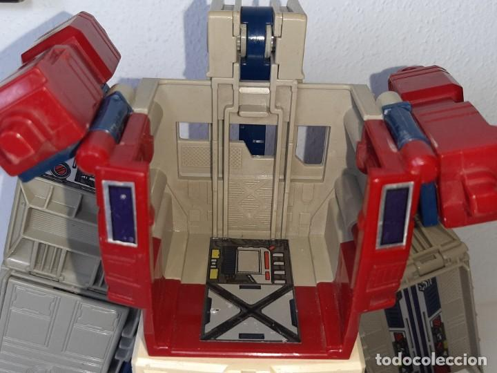 Figuras y Muñecos Transformers: TRANSFORMERS : ANTIGUO TRAILER OPTIMUS PRIME POWERMASTER GENERACION 1 HASBRO TAKARA AÑO 1987 - Foto 20 - 288714058