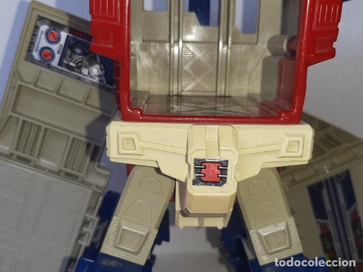 Figuras y Muñecos Transformers: TRANSFORMERS : ANTIGUO TRAILER OPTIMUS PRIME POWERMASTER GENERACION 1 HASBRO TAKARA AÑO 1987 - Foto 21 - 288714058