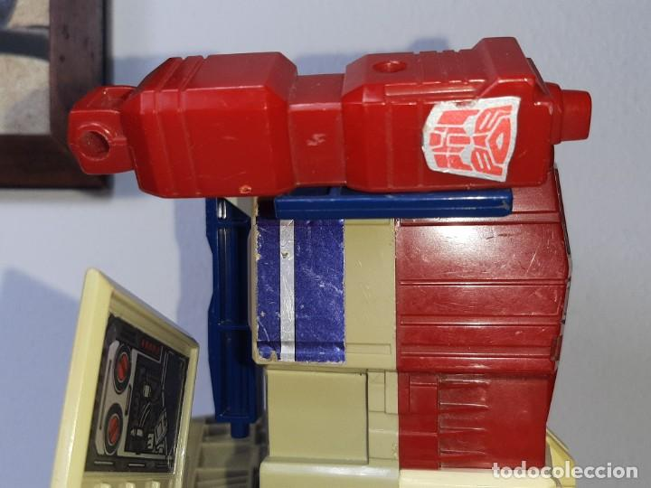 Figuras y Muñecos Transformers: TRANSFORMERS : ANTIGUO TRAILER OPTIMUS PRIME POWERMASTER GENERACION 1 HASBRO TAKARA AÑO 1987 - Foto 25 - 288714058