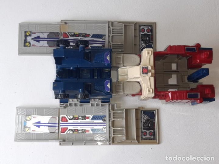 Figuras y Muñecos Transformers: TRANSFORMERS : ANTIGUO TRAILER OPTIMUS PRIME POWERMASTER GENERACION 1 HASBRO TAKARA AÑO 1987 - Foto 31 - 288714058