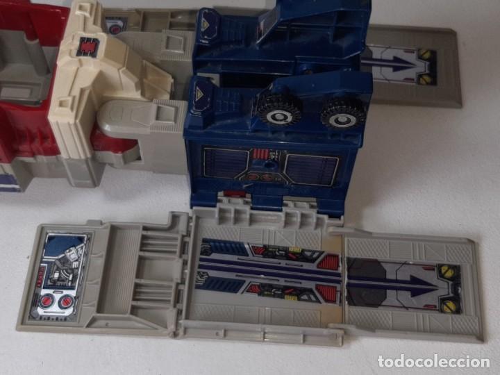 Figuras y Muñecos Transformers: TRANSFORMERS : ANTIGUO TRAILER OPTIMUS PRIME POWERMASTER GENERACION 1 HASBRO TAKARA AÑO 1987 - Foto 33 - 288714058