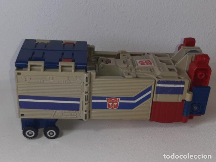 Figuras y Muñecos Transformers: TRANSFORMERS : ANTIGUO TRAILER OPTIMUS PRIME POWERMASTER GENERACION 1 HASBRO TAKARA AÑO 1987 - Foto 34 - 288714058
