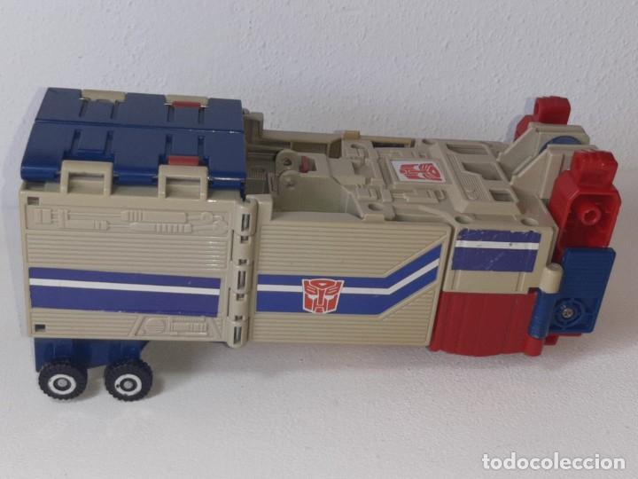 Figuras y Muñecos Transformers: TRANSFORMERS : ANTIGUO TRAILER OPTIMUS PRIME POWERMASTER GENERACION 1 HASBRO TAKARA AÑO 1987 - Foto 35 - 288714058