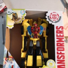 Figuras y Muñecos Transformers: FIGURA DEL AUTOBOT BUMBLEBEE POWER SURGE DE LA SERIE TRANSFORMERS ROBOTS IN DISGUISE. HASBRO. Lote 289227883