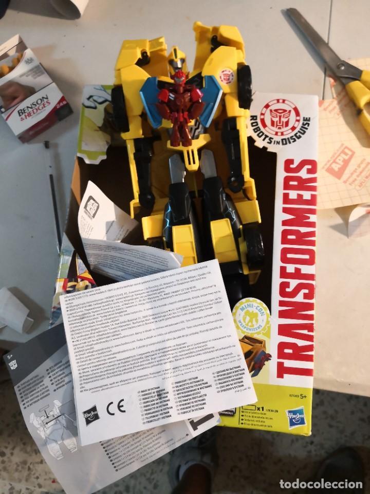 Figuras y Muñecos Transformers: Figura del Autobot Bumblebee Power Surge de la serie Transformers Robots in Disguise. Hasbro - Foto 2 - 289227883