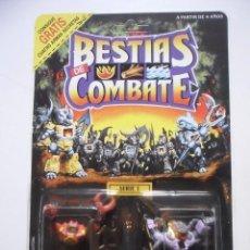 Figuras y Muñecos Transformers: BESTIAS DE COMBATE BATTLE BEASTS CRUSTY CRAB & WEB SLINGER SPIDER TAKARA HASBRO 1986. Lote 289232513