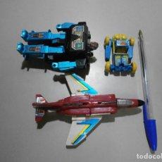 Figurines et Jouets Transformers: LOTE DE 3 TRANSFORMERS DE LOS PRIMEROS AÑOS 80. Lote 291516248