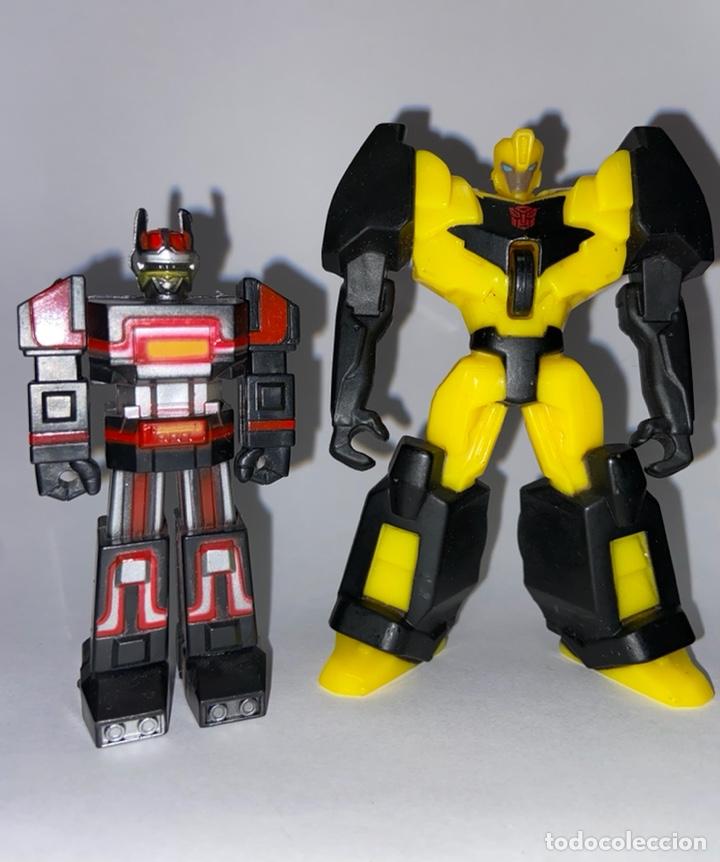 Figuras y Muñecos Transformers: LOTE DE 3 FIGURAS DE ACCIÓN DE LOS TRANSFORMERS - Foto 2 - 293587368