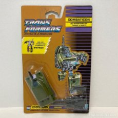 Figuras y Muñecos Transformers: HASBRO TRANSFORMERS COMBATICON BRAWL. NUEVO. VINTAGE. AÑO 1.990. A ESTRENAR CON PRECINTO.. Lote 293914118
