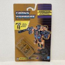 Figuras y Muñecos Transformers: HASBRO TRANSFORMERS COMBATICON SWINDLE. NUEVO. VINTAGE. AÑO 1.990. A ESTRENAR CON PRECINTO.. Lote 293914518